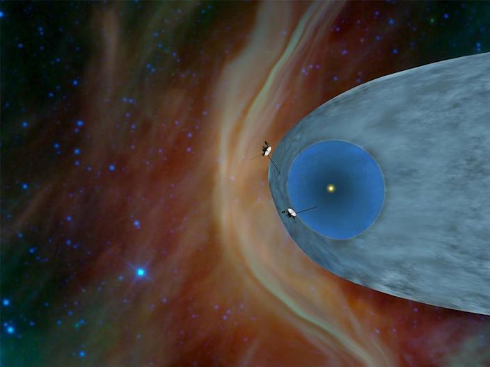 voyager 1 nasa in the heliopause