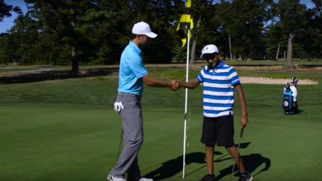 Jordan Spieth Got Taken To School By This Year's Spelling Bee Champ