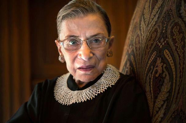 PHOTO: Supreme Court Justice Ruth Bader Ginsburg is photographed in the West conference room at the U.S. Supreme Court in Washington, D.C., Aug. 30, 2013. (Nikki Kahn/The Washington Post/Getty Images, FILE)
