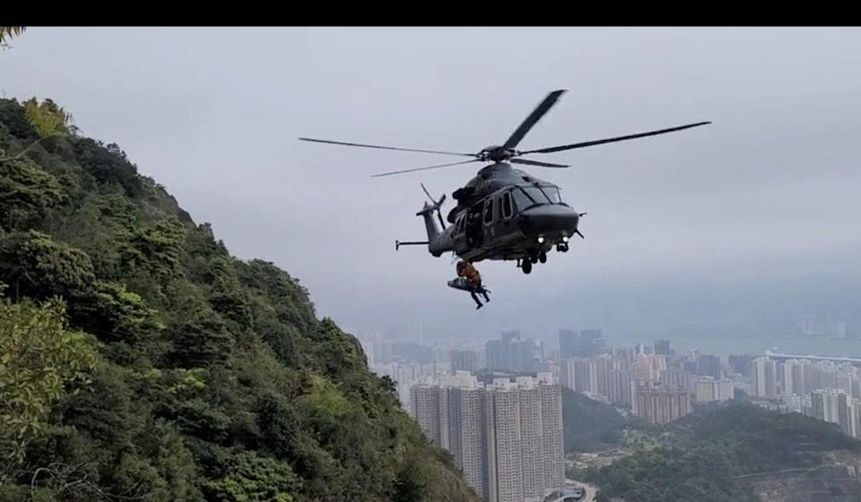 The number of mountain rescue incidents in Hong Kong rose to 602 in 2020 from 215 in the previous year. Photo: Facebook