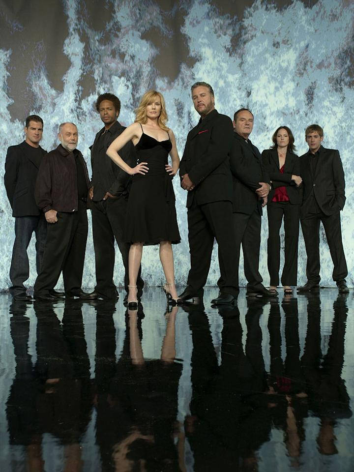 "The cast of ""CSI: Crime Scene Investigation."""