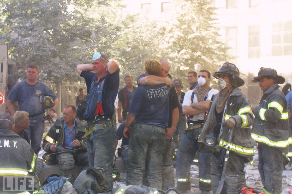 "The FDNY lost 343 members on 9/11. (Photo: Ron Agam/Getty Images)  <br><br>For the full photo collection, go to <a target=""_blank"" href=""http://www.life.com/gallery/33492/in-praise-of-911-first-responders"">LIFE.com</a>"