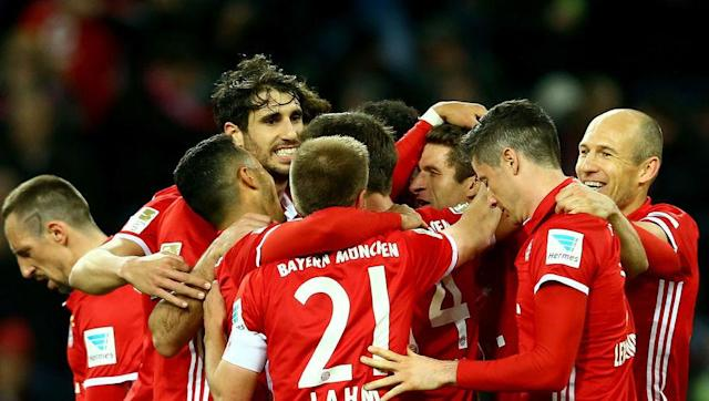 <p><strong>Average goals conceded per game: 0.44 (4 goals in 9 games) </strong></p> <br><p>Undoubtedly one of the best defences ever assembled in Bundesliga history, the likes of Philip Lahm, Mats Hummels and David Alaba barely break a sweat, especially when Manuel Neuer is keeping goal behind them. </p> <br><p>The runaway leaders are extremely difficult to score against, with just 4 goals going in since the turn of the year.</p>