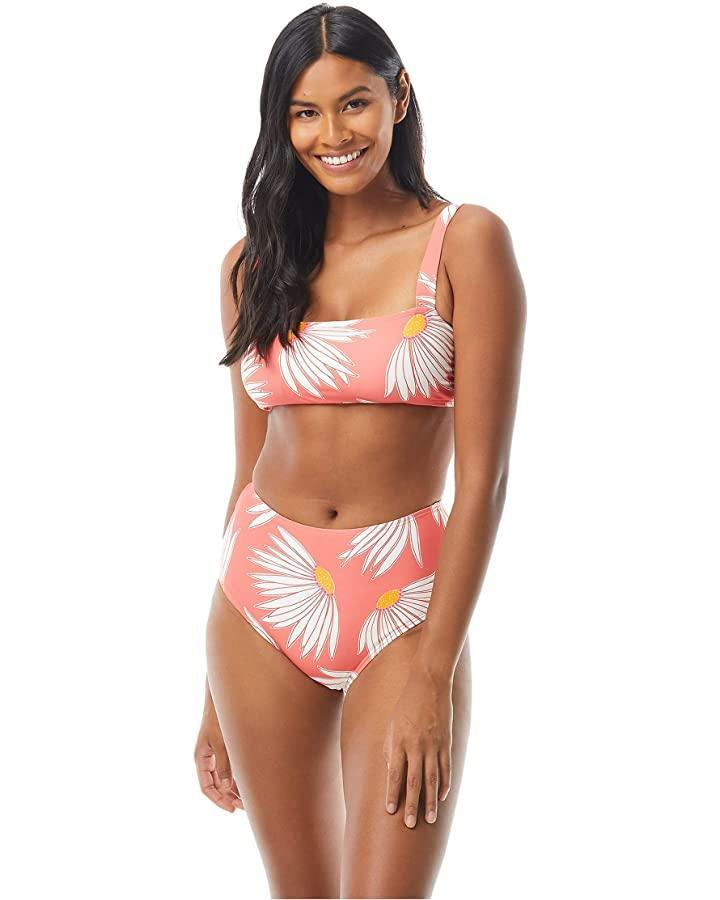 """<br><br><strong>kate spade new york</strong> Falling Flower Square Neck Bikini Top, $, available at <a href=""""https://go.skimresources.com/?id=30283X879131&url=https%3A%2F%2Fwww.zappos.com%2Fa%2Fthe-style-room%2Fp%2Fkate-spade-new-york-falling-flower-square-neck-bikini-top-w-adjustable-straps-lychee%2Fproduct%2F9410610%2Fcolor%2F106605"""" rel=""""nofollow noopener"""" target=""""_blank"""" data-ylk=""""slk:Zappos"""" class=""""link rapid-noclick-resp"""">Zappos</a><br><br><strong>kate spade new york</strong> Falling Flower High-Waist Bottoms, $, available at <a href=""""https://go.skimresources.com/?id=30283X879131&url=https%3A%2F%2Fwww.zappos.com%2Fa%2Fthe-style-room%2Fp%2Fkate-spade-new-york-falling-flower-high-waist-bottoms-lychee%2Fproduct%2F9410576%2Fcolor%2F106605"""" rel=""""nofollow noopener"""" target=""""_blank"""" data-ylk=""""slk:Zappos"""" class=""""link rapid-noclick-resp"""">Zappos</a>"""