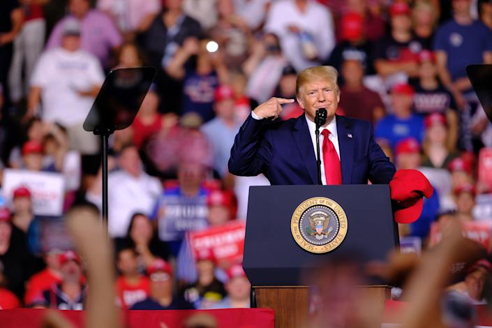 The 2020 election is already making Americans anxious. (Photo: SOPA Images via Getty Images)