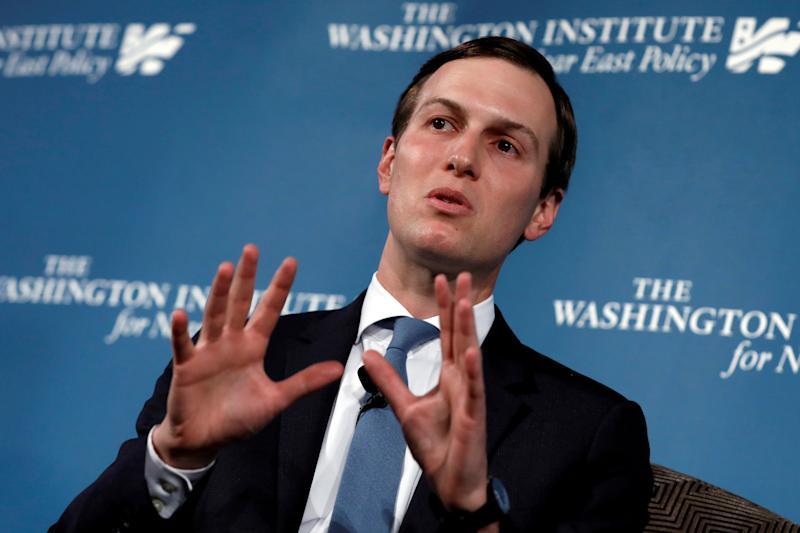 Jared Kushner expresses doubt that Palestinians can self-govern
