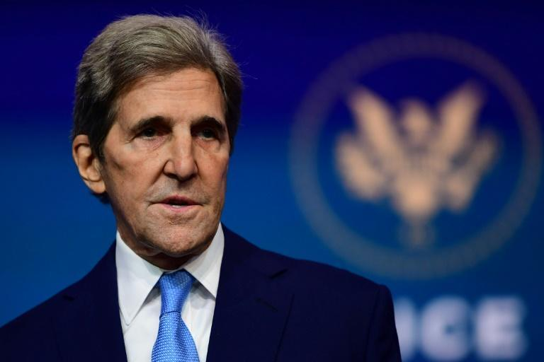 President Joe Biden's climate envoy John Kerry will be the top US official participating in the virtual Davos summit