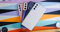 Samsung Galaxy S21 in all colors