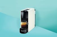 """<p>If you're looking to cut down on visits to your local coffee shop, the best home espresso machines can help you get your <a href=""""https://www.goodhousekeeping.com/food-recipes/cooking/a32896369/how-to-make-a-latte/"""" rel=""""nofollow noopener"""" target=""""_blank"""" data-ylk=""""slk:latte"""" class=""""link rapid-noclick-resp"""">latte</a> or cappuccino fix right in the comfort of your own kitchen. </p><p>Espresso uses a lot less water than<a href=""""https://www.goodhousekeeping.com/appliances/coffee-maker-reviews/g2083/top-rated-coffeemakers/"""" rel=""""nofollow noopener"""" target=""""_blank"""" data-ylk=""""slk:traditional drip coffee"""" class=""""link rapid-noclick-resp""""> traditional drip coffee</a>, plus finer grounds and a minimum of nine bars of pressure, according to the <a href=""""http://www.espressoitaliano.org/files/File/istituzionale_inei_hq_en.pdf"""" rel=""""nofollow noopener"""" target=""""_blank"""" data-ylk=""""slk:Italian Espresso National Institute"""" class=""""link rapid-noclick-resp"""">Italian Espresso National Institute</a>, which shortens the brewing time to less than 30 seconds. The result is <strong>thicker, creamier, and stronger-tasting than drip coffee</strong>. While a single shot of espresso typically measures in at .88 of an ounce, espresso has more caffeine per fluid ounce than drip coffee (between 375 mg and 520 mg per 7.6-ounce cup of espresso, compared to between 95 mg and 165 mg per 7.6-ounce cup of coffee, according to <a href=""""https://www.nespresso.com/au/en/news/coffee-machine-vs-espresso-machine"""" rel=""""nofollow noopener"""" target=""""_blank"""" data-ylk=""""slk:Nespresso"""" class=""""link rapid-noclick-resp"""">Nespresso</a>). </p><p>There are several ways to make espresso with semi-automatic, automatic, super-automatic, or fully automatic pod machines. But an espresso machine is an investment — especially if you want one with all the bells and whistles — so it's important to consider the types of features that fit your needs.</p><h2 class=""""body-h2"""">How we test espresso machines</h2><p><strong>The Good Housekeeping """