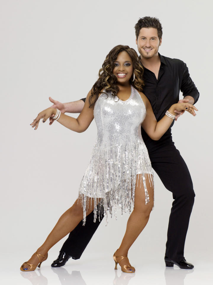 "Sherri Shepherd teams with professional dancer Val Chmerkovskiy on Season 14 of ""<a href=""http://tv.yahoo.com/dancing-with-the-stars/show/38356"">Dancing With the Stars</a>."""