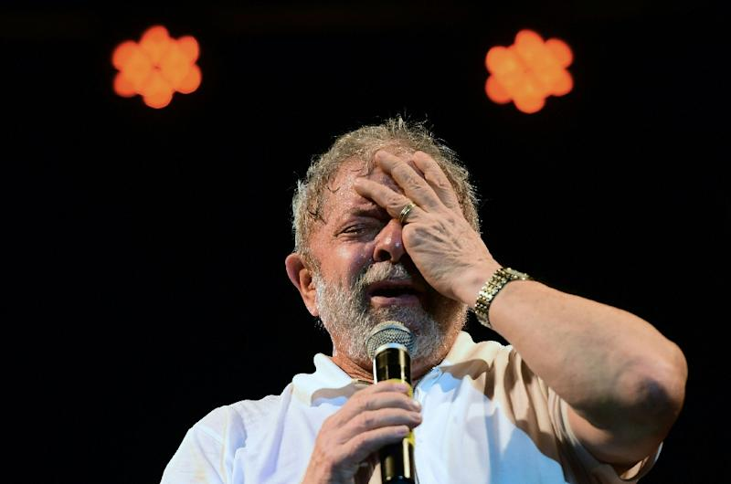 Impeached President Dilma Rousseff's presidential predecessor and leftist icon Luiz Inacio Lula da Silva faces three corruption-related court cases and speculation is rife that he could also be placed in pre-trial detention (AFP Photo/Christophe Simon)