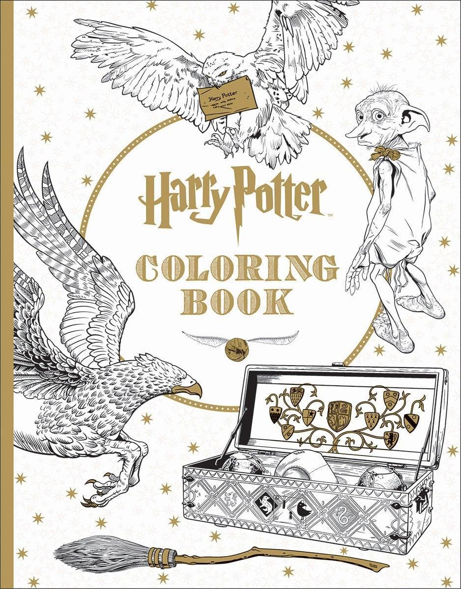 <p>A true fan will have hours of fun coloring this <span><strong>Harry Potter Coloring Book: Scholastic</strong></span> ($14, originally $16).</p>
