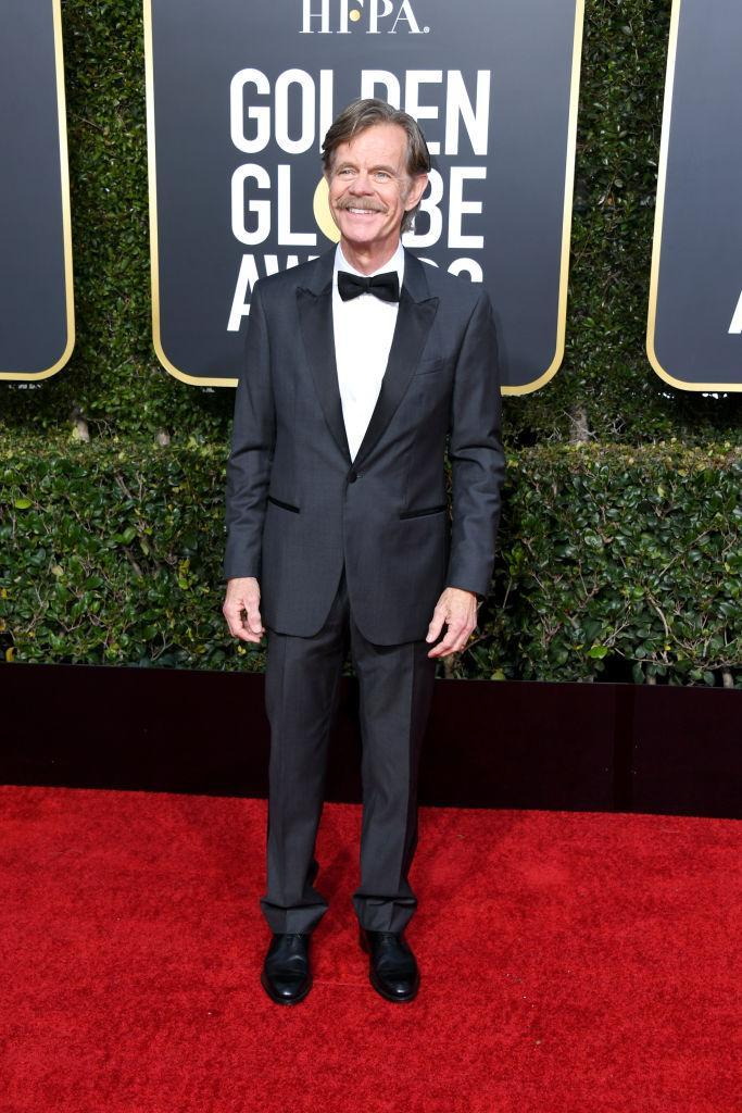 <p>William H. Macy attends the 76th Annual Golden Globe Awards at the Beverly Hilton Hotel in Beverly Hills, Calif., on Jan. 6, 2019. (Photo: Getty Images) </p>