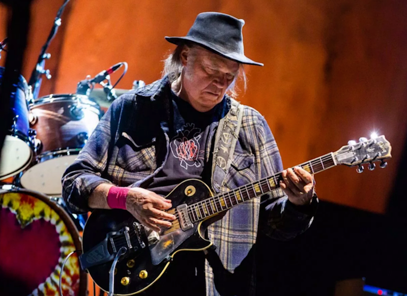 Neil Young and Crazy Horse announce COLORADO, the band's first new album in seven years