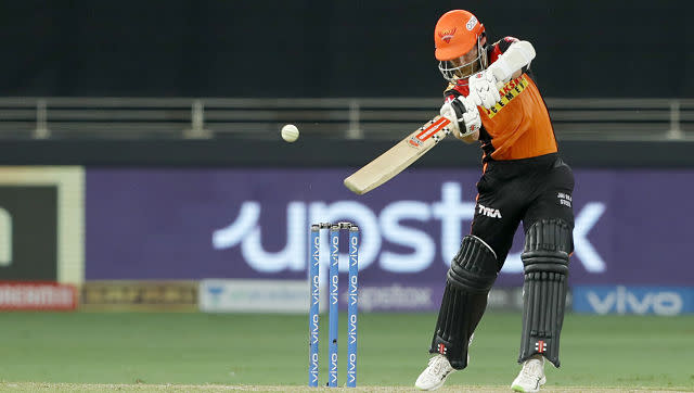 At one stage, SRH were 29/2 and the side needed captain Kane Williamson to once again save them. However, Kane, who last played any cricket back in June during World Test Championship, looked out of touch and ended up playing a fault shot, his innings coming to an premature end. He scored 18 off 26 balls. And with other batters failing as well, SRH ended up putting a mere 134/9 on the scoreboard at the end of 20 overs. Sportzpics.