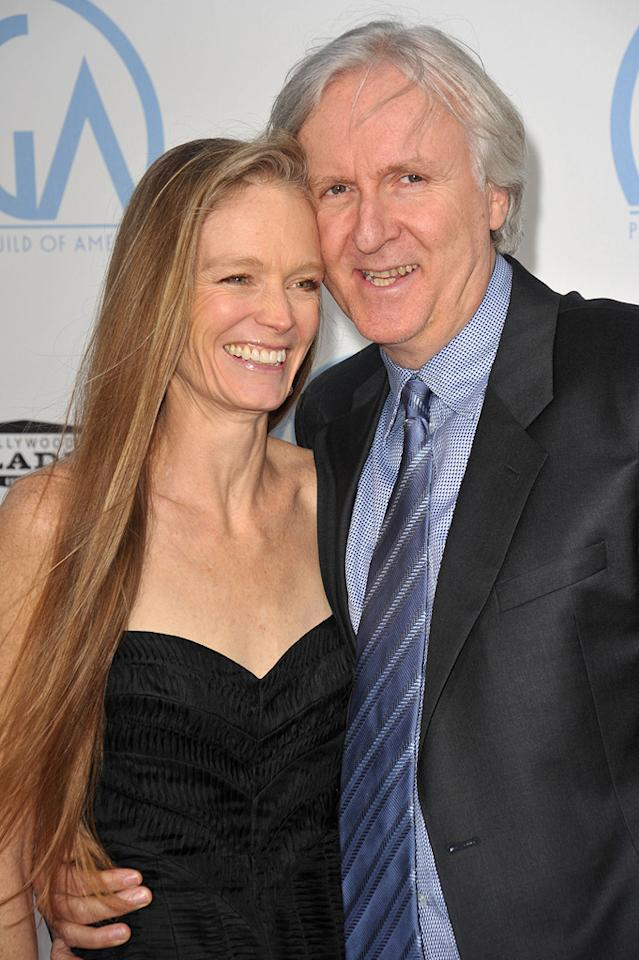 """<a href=""""http://movies.yahoo.com/movie/contributor/1800021748"""">Suzy Amis</a> and <a href=""""http://movies.yahoo.com/movie/contributor/1800012402"""">James Cameron</a> at the 21st Annual Producers Guild Awards in Hollywood, California - 01/24/2010"""