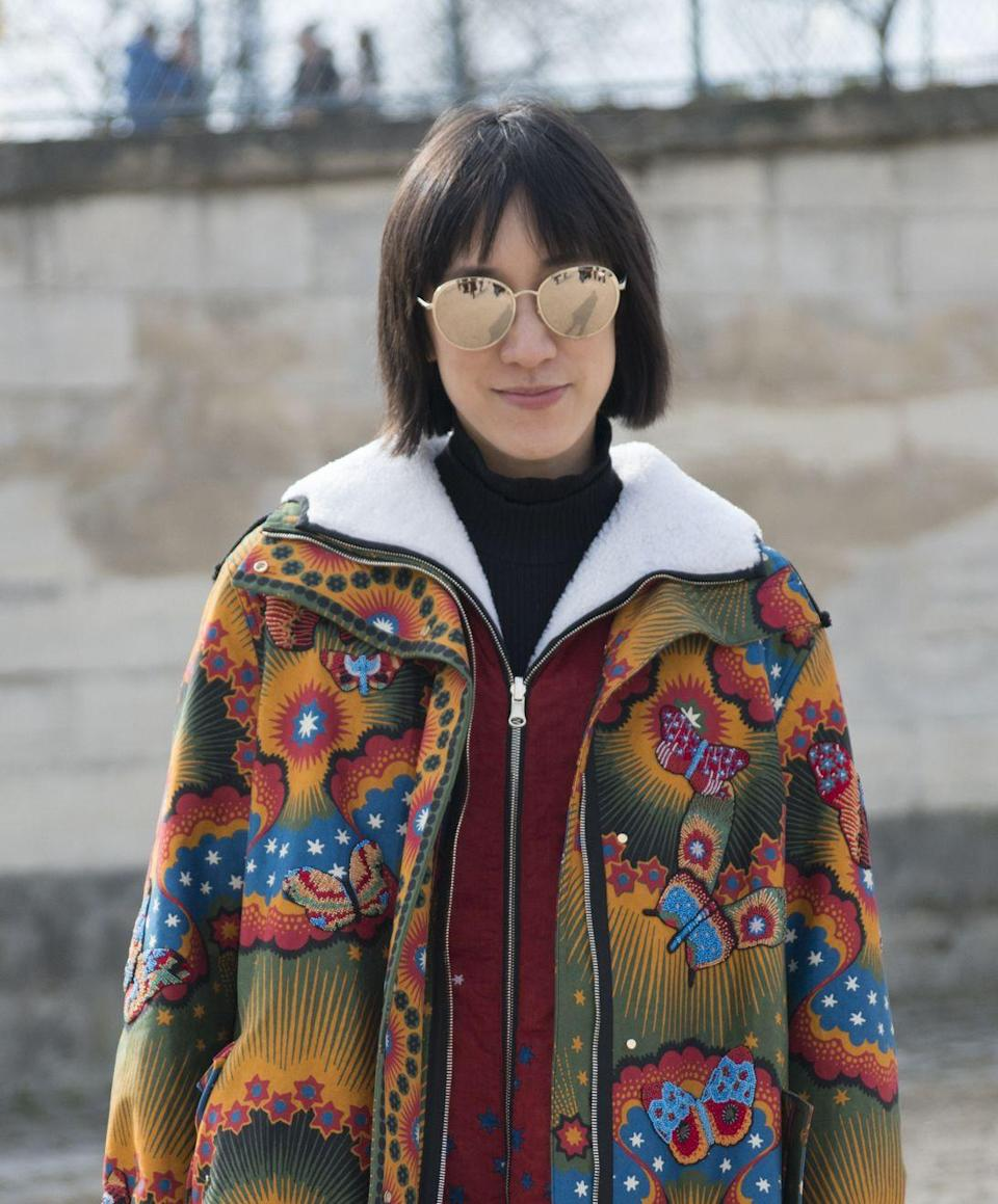 <p>Instagram doyenne, Eva Chen is always on top of the latest trending topic or, in this case, trending hairstyle.</p>