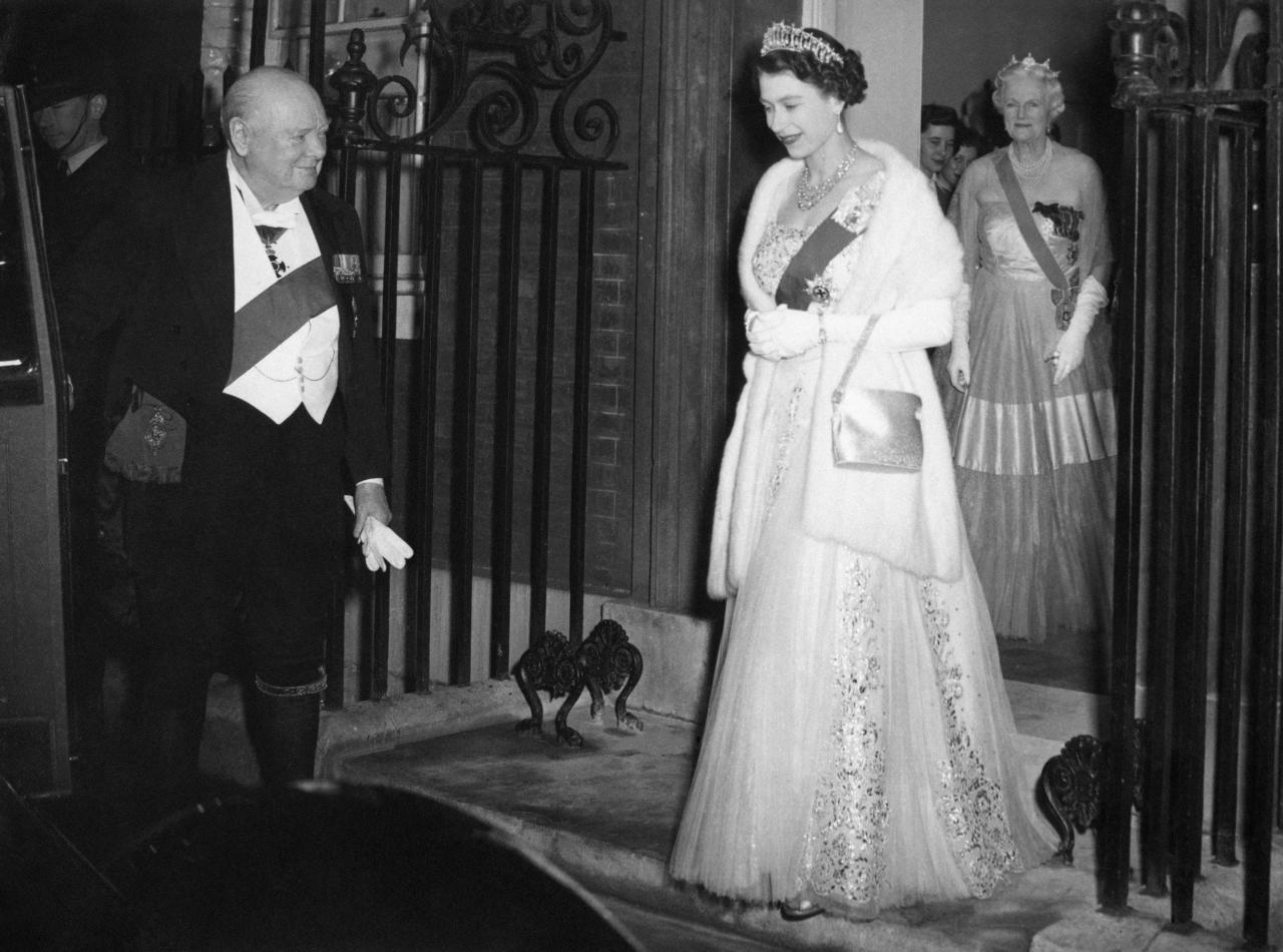 "Mr Churchill was already prime minister when Princess Elizabeth ascended the throne in 1952. It was his second tenure, having previously seen the country through World War II. Asked many years later about her favourite PM, the Queen said: ""Winston, of course, because it was always such fun.""  [Photo: PA]"