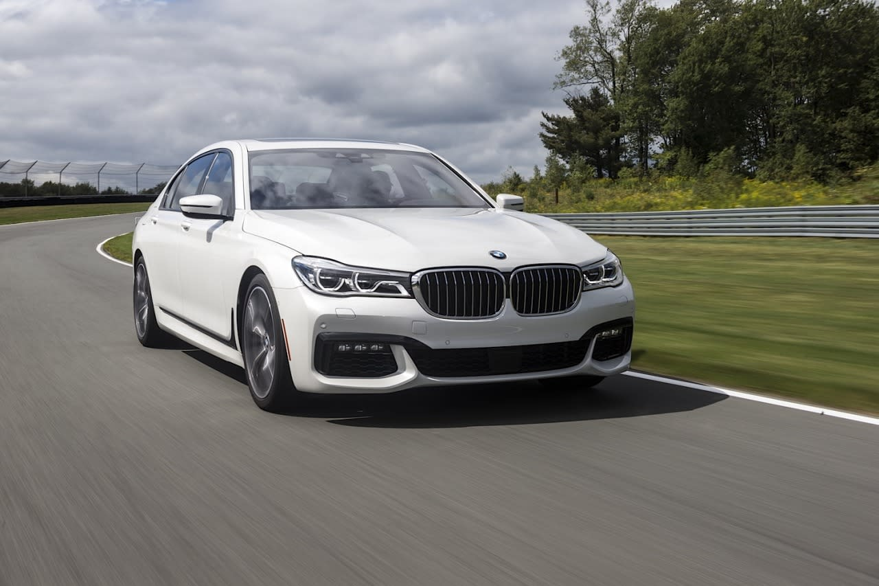 <p>The base 740i comes with a 320-hp six-cylinder engine.</p>