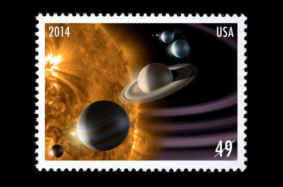 'Solar System' on Leaked List of US Postage Stamp Subjects for 2014