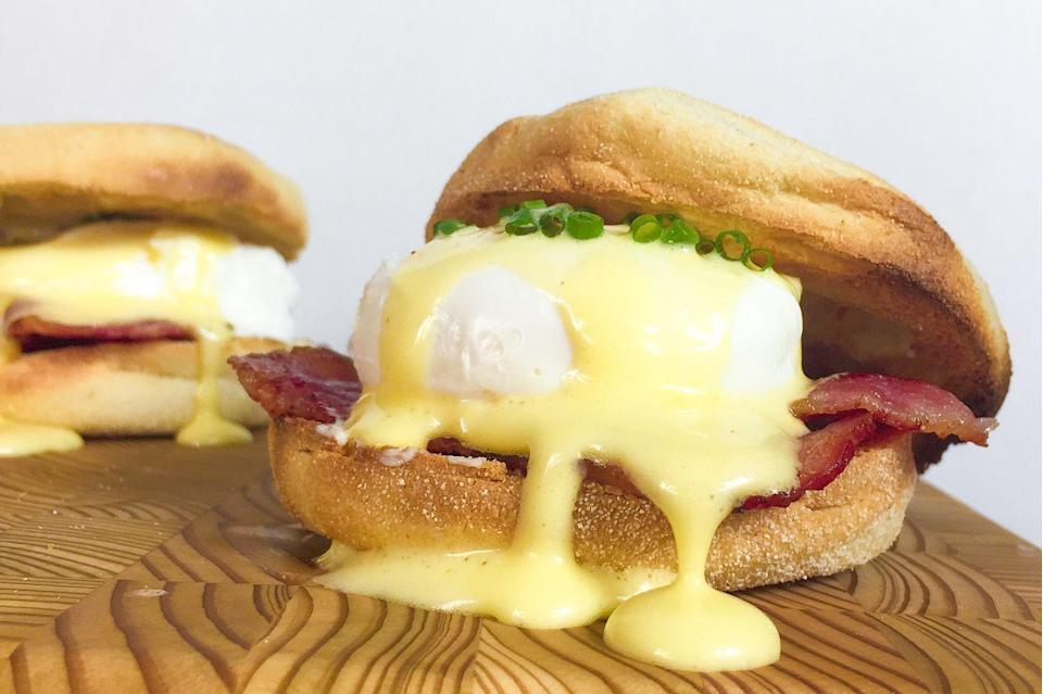 <p>FINALLY. Eggs Benedict you can eat without a fork!</p><p>Get the recipe from <span>Delish</span>.</p>