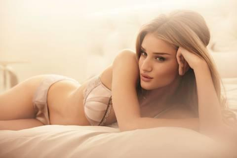 Rosie Huntington-Whiteley Turns Designer For Her First Lingerie Range For Marks & Spencer Autograph