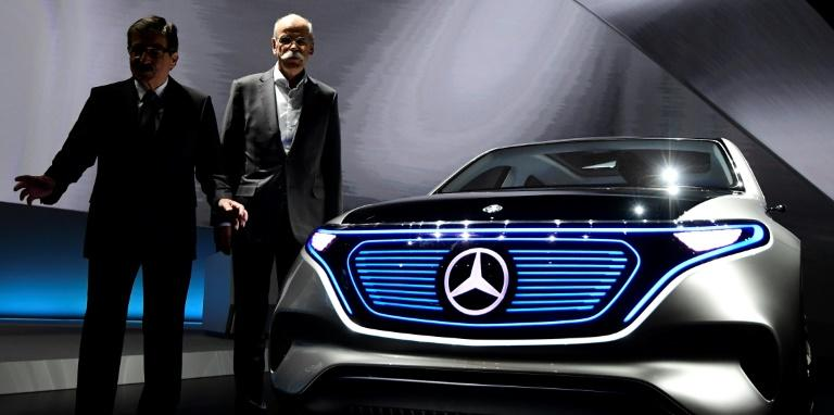 """Chief executive Dieter Zetsche says Daimler will use """"all available means"""" to reduce carbon dioxide emissions"""