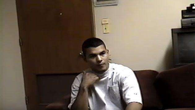 This is the gruesome moment Vasquez told detectives of when he slit the 12-year-old boy's throat. Photo: YouTube