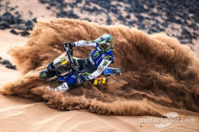 "#22 Monster Energy Yamaha Rally Team: Franco Caimi <span class=""copyright"">Monster Energy Yamaha Rally Team</span>"