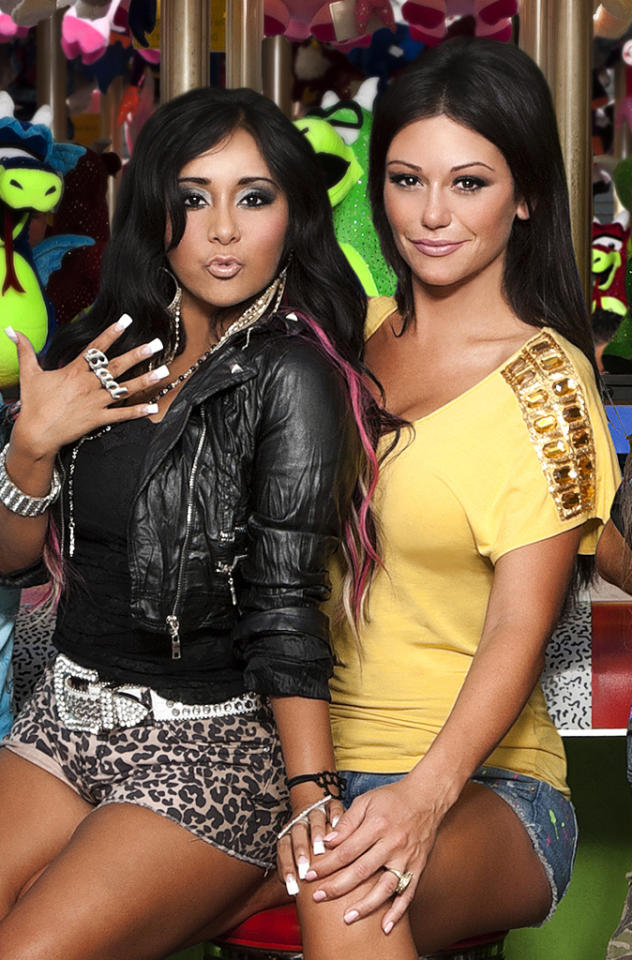 "<p><b>Snooki & JWoww</b> (Thursday, 6/21 on MTV)<br><br> This show was supposed to be about the two pals carousing in Jersey and whatnot, just like a mini-""Jersey Shore,"" but now that Snooki is pregnant, it seems her condition will be at the center of the show. At any rate, even if they sleep all day and talk about bloated feet, it will still be better than watching Pauly D and his lame entourage.</p>"