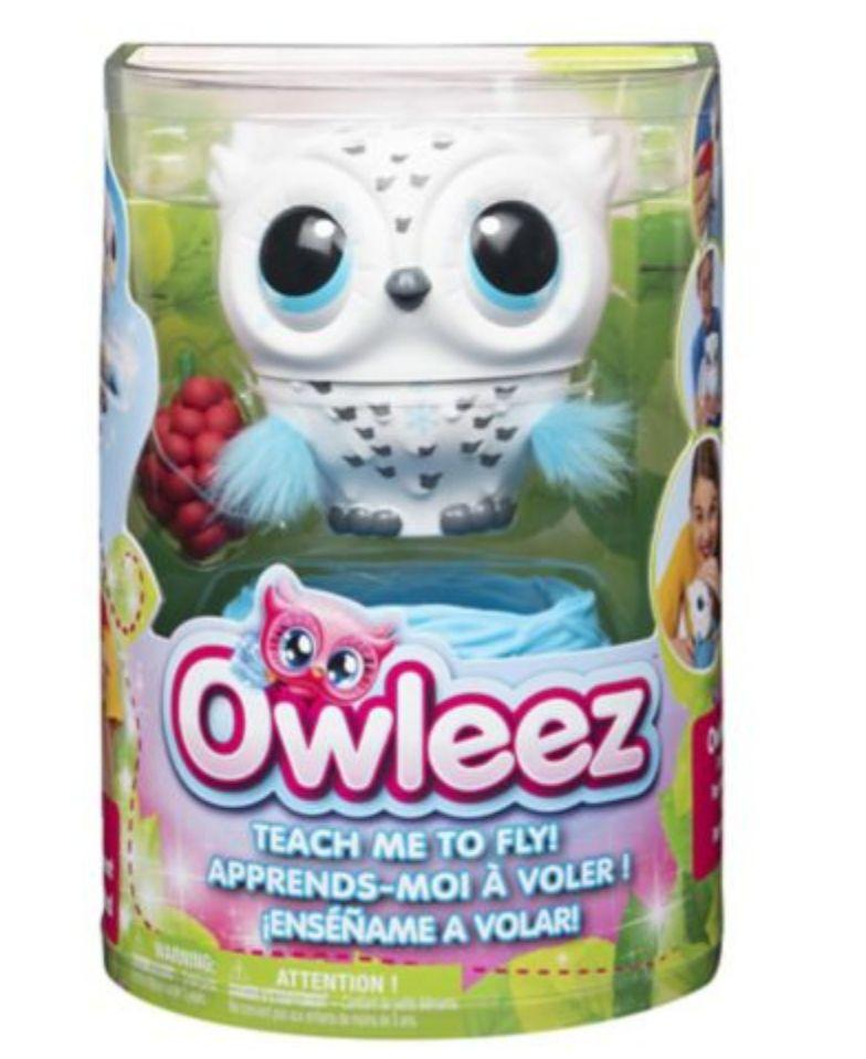 "Owleez is the interactive baby owl toy that can REALLY fly, but needs your help!&nbsp;&nbsp;<strong>Ages:</strong>&nbsp; 6+&nbsp;<strong>Get it at:</strong> <a href=""https://www.canadiantire.ca/en/pdp/owleez-interactive-baby-owl-toy-0506216p.html"" target=""_blank"" rel=""noopener noreferrer"">Canadian Tire</a>, $69.99"