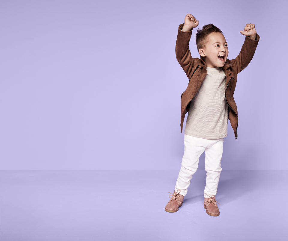 We're loving River Island's new campaign which features children with disabilities [Photo: River Island]