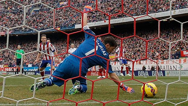 Casillas Real Madrid Atletico La Liga 2015