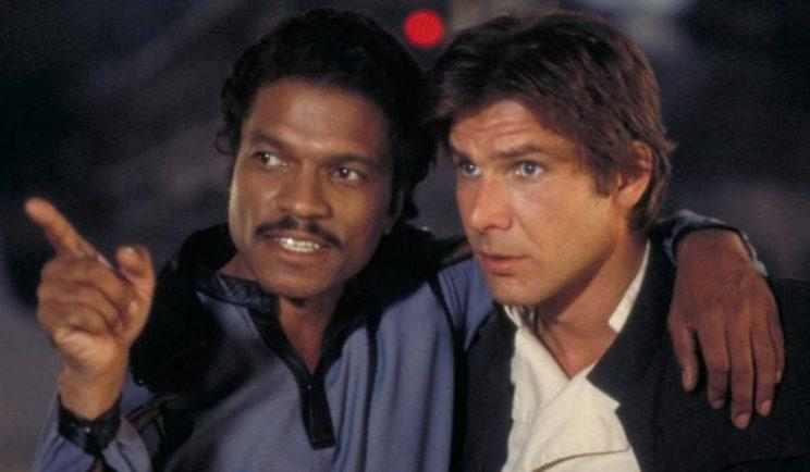 Lando Calrissian and Han Solo - Credit: Lucasfilm