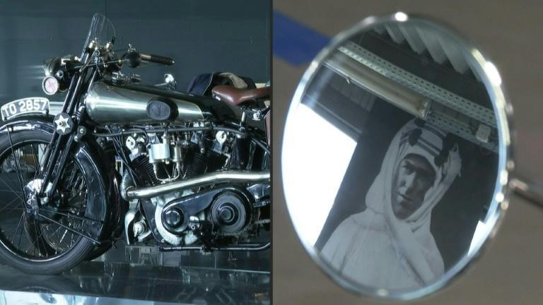 Lawrence of Arabia's iconic motorbike now built next to Toulouse