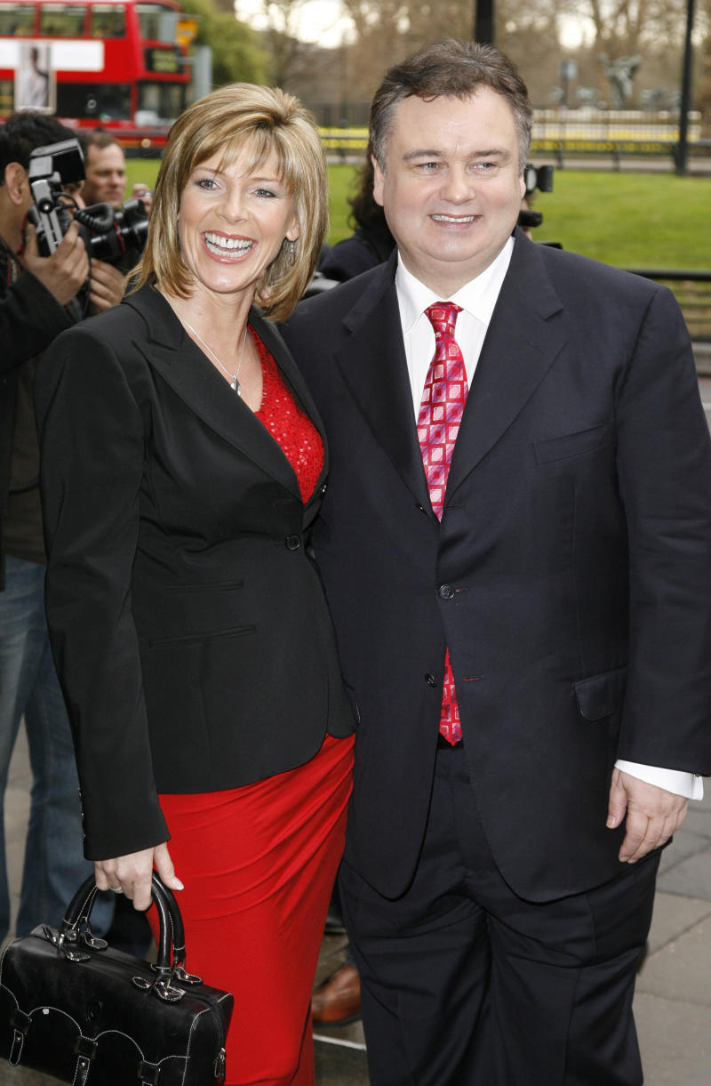 Eamonn Holmes and Ruth Langsford attending the 2008 The TRIC Awards, held at the Grosvenor Hotel in London.