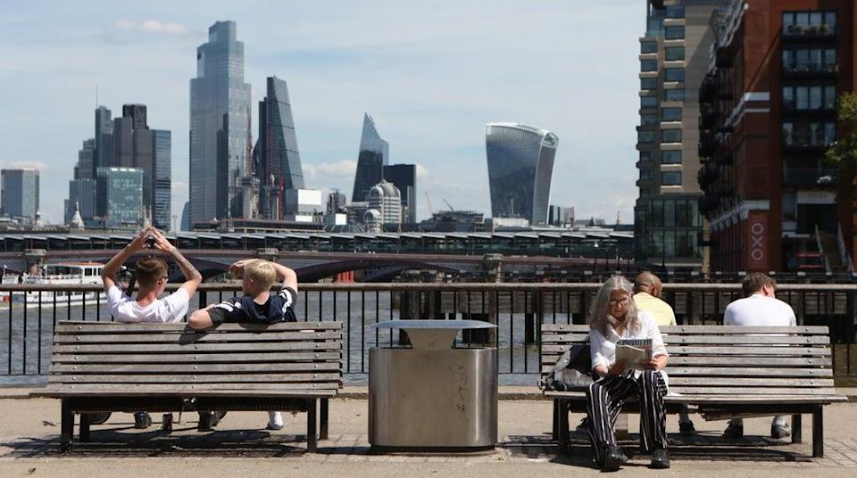 Shares were down in London on Thursday (Luciana Guerra/PA) (PA Wire)