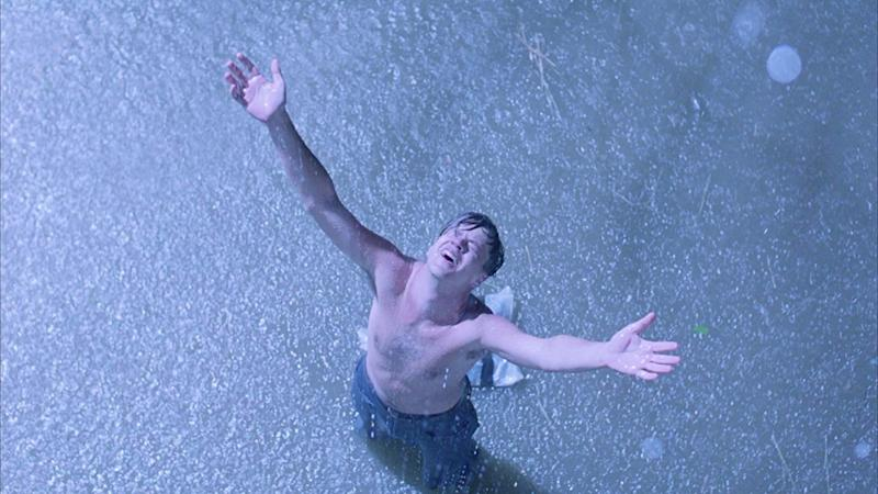 Tim Robbins as Andy Dufresne in The Shawshank Redemption