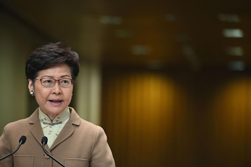 Hong Kong's Carrie Lam to Work 'Closely' With New China Liaison