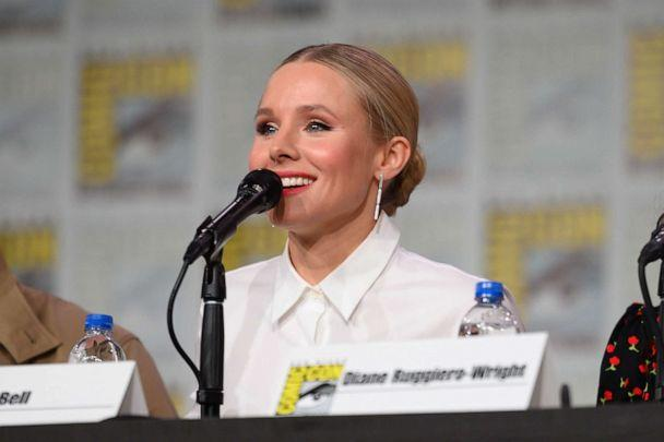 PHOTO: Kristen Bell attends Hulu's 'Veronica Mars' revival panel and world premiere during 2019 Comic-Con International at San Diego Convention Center on July 19, 2019, in San Diego. (Daniel Boczarski/Getty Images for Hulu)
