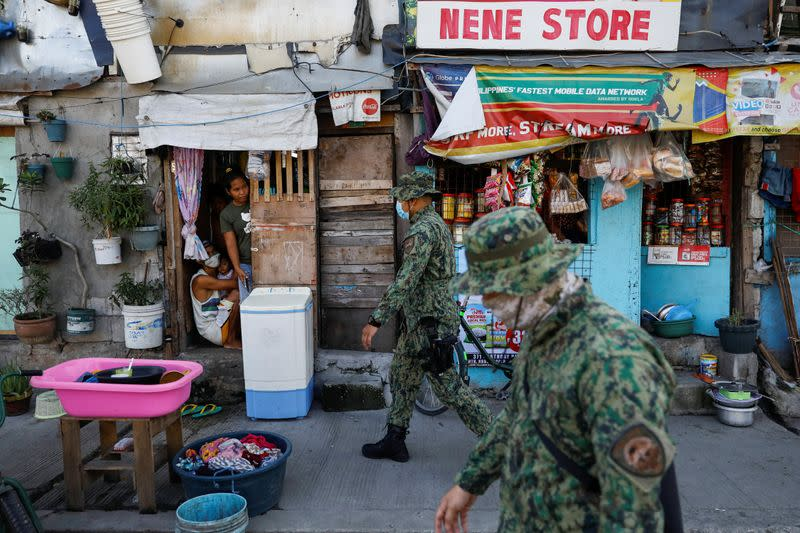 As Philippines fights coronavirus, some fear involvement of the police