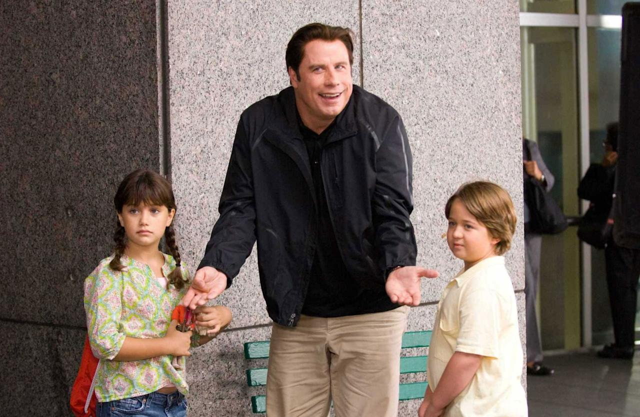 """Ella Bleu Travolta – The daughter of John Travolta and Kelly Preston made her film debut at the age of nine in the 2009 comedy """"Old Dogs,"""" playing one half of a pair of twins who make life very interesting for two friends (played by Robin Williams and John Travolta). While her famous dad was one of the stars, Ella Bleu actually ended up playing the daughter of Williams' character in the movie. The young Travolta will finally get a chance to play her dad's daughter when the two are next seen together in Barry Levinson's true crime epic """"Gotti: In the Shadow of My Father,"""" in which Travolta is set to play titular mobster John Gotti."""
