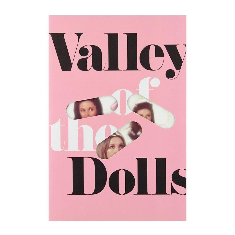"""<p><strong>$10.87 <a class=""""link rapid-noclick-resp"""" href=""""https://www.amazon.com/Valley-Dolls-Anniversary-Jacqueline-Susann/dp/0802125344/ref=?tag=syn-yahoo-20&ascsubtag=%5Bartid%7C10054.g.35036418%5Bsrc%7Cyahoo-us"""" rel=""""nofollow noopener"""" target=""""_blank"""" data-ylk=""""slk:BUY NOW"""">BUY NOW</a><br></strong><strong><strong>Genre: </strong></strong>Fiction<br></p><p>Three struggling young women in New York City are on a mission to get noticed in the entertainment industry, but when they finally make it to thew top, their celebrity status leads them to unthinkable issues like body dysmorphia, pills, cheating, and rehab.</p><p><strong>More: </strong><a href=""""https://www.bestproducts.com/lifestyle/g2535/best-fiction-books-novels-to-read/"""" rel=""""nofollow noopener"""" target=""""_blank"""" data-ylk=""""slk:Our Editors Recommend These Fiction Books"""" class=""""link rapid-noclick-resp"""">Our Editors Recommend These Fiction Books</a></p>"""