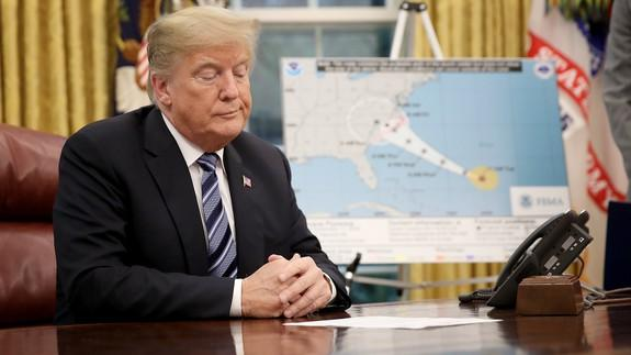 Trump pivots back to Maria, says Dems inflated death toll