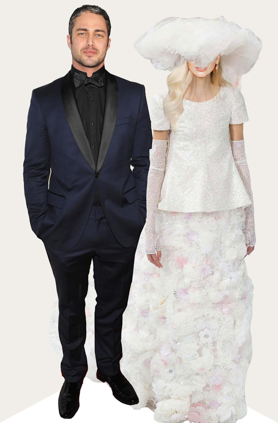 Gaga and the maestro Karl Lagerfeld have had a longtime relationship so it wouldn't be a surprise if the two cooked up a wedding dress like this Chanel Couture poufball fabulousness for the special day.