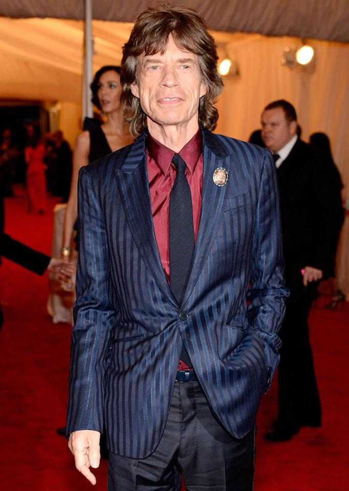 Mick Jagger turns 69 on July 26.