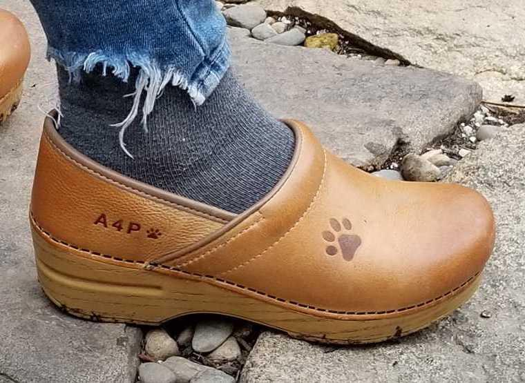 """<h3><a href=""""https://www.dansko.com/personalized-clogs"""" rel=""""nofollow noopener"""" target=""""_blank"""" data-ylk=""""slk:Dansko Clogs"""" class=""""link rapid-noclick-resp"""">Dansko Clogs<br></a></h3><br>Dansko clogs may be super practical, but they can also be personal. Select up to four spots to customize with letters and symbols. <br><br><strong>Dansko</strong> Customizable Clogs, $, available at <a href=""""https://go.skimresources.com/?id=30283X879131&url=https%3A%2F%2Fwww.dansko.com%2Fprofessional-honey-distressed-personalize"""" rel=""""nofollow noopener"""" target=""""_blank"""" data-ylk=""""slk:Dansko"""" class=""""link rapid-noclick-resp"""">Dansko</a>"""