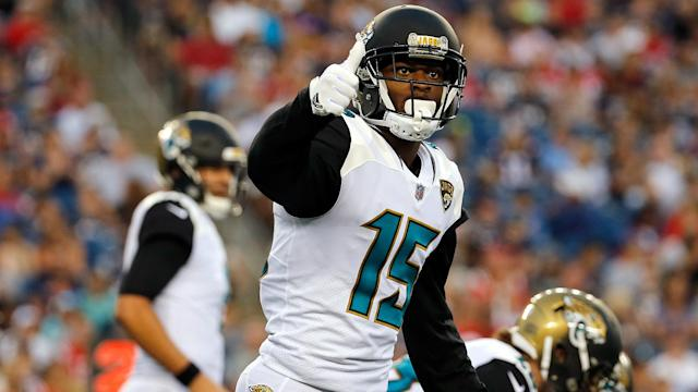 WR Allen Robinson has been told that the Jacksonville Jaguars are not planning to use the franchise tag on him.