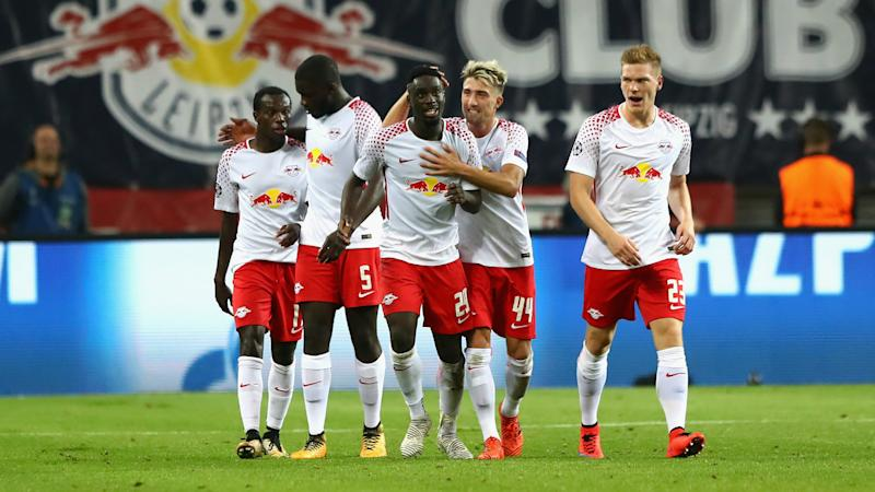 RB Leipzig 3 Porto 2: Hosts claim maiden Champions League victory