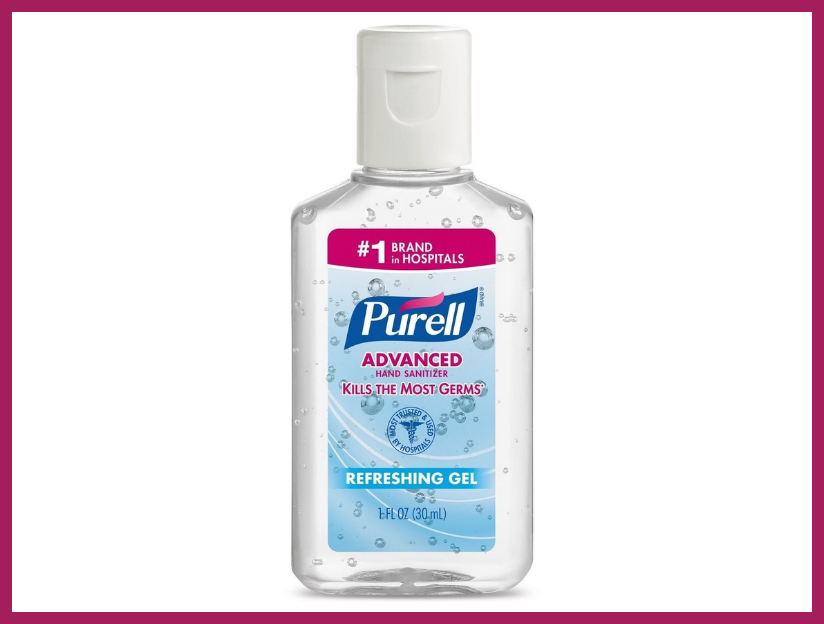 Purell Hand Sanitizer 1-ounce Travel Size (10-pack). (Photo: Amazon)